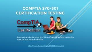 CompTIA SY0-501 Practice Test PDF