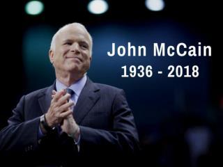 John McCain: 1936 - 2018