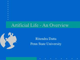 Artificial Life - An Overview