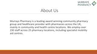 Flu Jab Pharmacy   Murrays Pharmacy