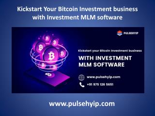 Investment MLM software | Investment MLM Script
