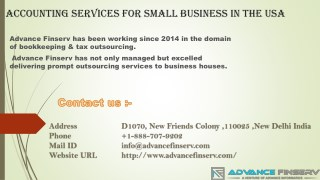 Accounting Services For Small Business USA