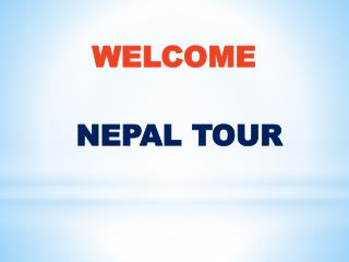 Nepal Tourist Packages