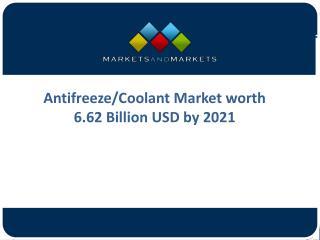 Global Analysis on Antifreeze Market