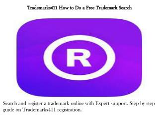 How to Do a Free Trademark Search | Trademarks411