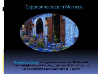 Capodanno 2019 in Marocco