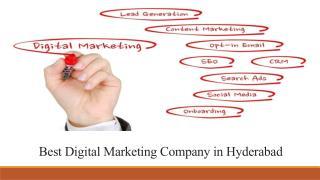 Best Digital Marketing Company in Hyderabad - Boring Commerce