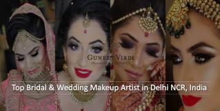 Famous Bridal Makeup Artists in Delhi - Guneet Virdi