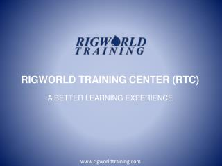 First Aid training - RigWorld Training Center