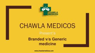 Worldwide Generic & Branded medicine suppliers – Chawla Medicos