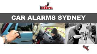 What Are Car Alarms And What Are Their Functions?