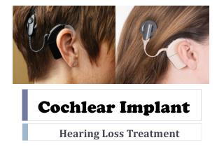 Cost of cochlear implant in India