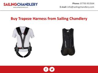 Buy Trapeze Harness from Sailing Chandlery