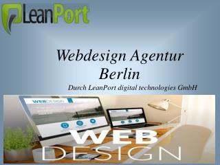 Steigern Sie Ihren Unternehmenserfolg mit einer renommierten Webdesign Agentur aus Berlin