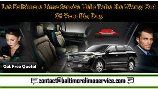 Baltimore Limo Services