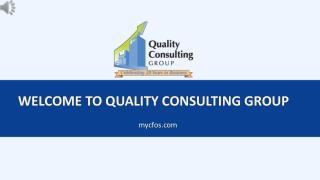 QuickBooks Consultant in Tampa- Quality Consulting Group