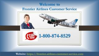 Frontier Airlines Customer Service Phone Number 24*7 help
