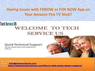 Fire TV Stick Helpline Number 1-855-551-2666 USA