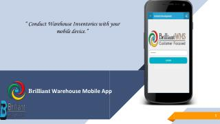cloud based warehouse management system