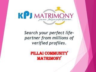 Pillai Matrimonial - Pillai Matrimony Grooms & Brides in Tamil Nadu