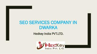 SEO Services Company in Dwarka