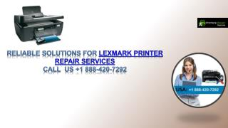 Reliable solutions for Lexmark Printer Repair Services