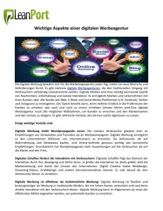 Digitale Werbeagentur, werbeagentur berlin
