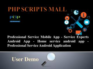 Service Experts Android App | Home service android app