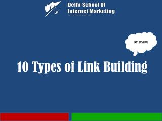 10 Types of Link Building