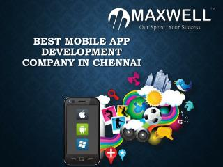 Android app development company in hyderabad - Maxwellglobalsoftware