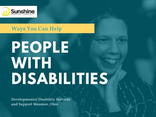 Ways You Can Help People With Disabilities