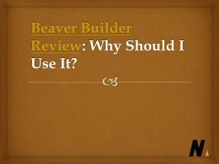 Beaver Builder Review