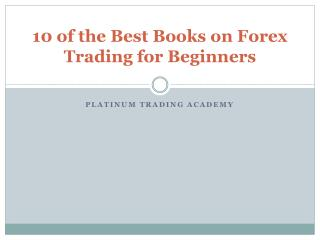 Forex Trading Books | Online Trading Academy UK
