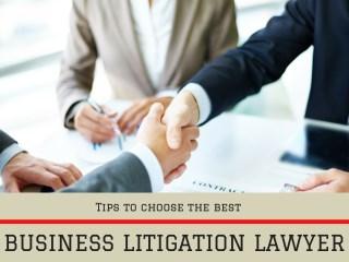 Business Litigation Law Firms