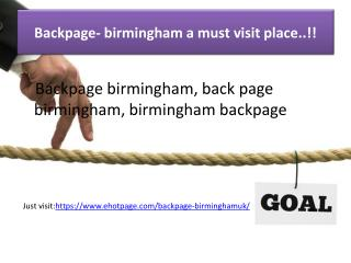backpage- birmingham a must visit place..!!