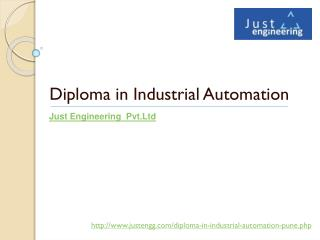 diploma in industrial automation | just engineering