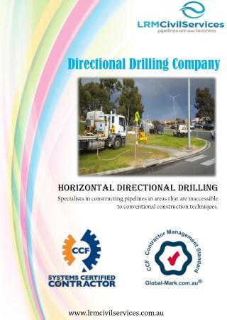 7 Advantages of Choosing Horizontal Directional Drilling - LRM Civil Services