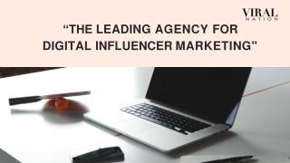 The Leading Agency for Digital Influencer Marketing Services - Viral Nation