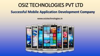 Pre-dominant Mobile Application Development Company