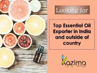 Top Essential Oil Exporter India