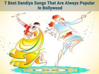 7 Best Dandiya Songs That Are Always Popular In Bollywood