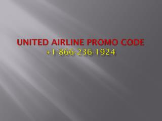 United Reservations Number And united Promo Code