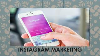 Social Media Marketing: Instagram Marketing India