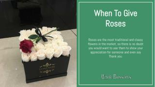 Send Gorgeous Roses Online from Whole Blossoms