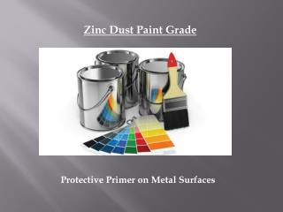 Zinc Powder Paint Grade