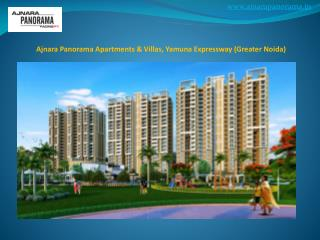 Ajnara Panorama Residential Projects in Greater Noida