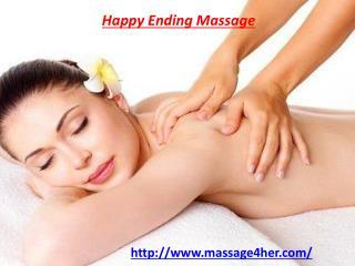 Happy Ending Massage for Women