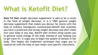 KetoFit Reviews