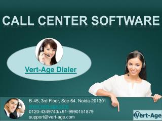 Call Center Software | Dialer Software | Vert Age Dialer