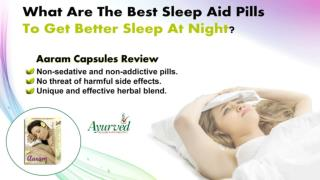 What are the Best Sleep Aid Pills to Get Better Sleep at Night?